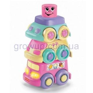 Кубики-блоки Машинки Fisher-Price арт: И10173