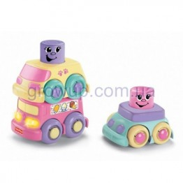 Кубики-блоки Машинки Fisher-Price арт: И10173