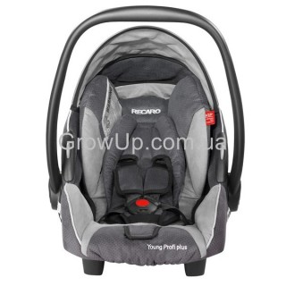 Автокресло Recaro Young Profi Plus 0+ 0-18 кг.