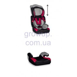 Автокресло Bertoni Kiddy Black&Red, группа 1/2/3 (9-36 кг)