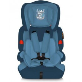 Автокресло Lorelli Kiddy Aquamarine Get the World, группа 1/2/3 (9-36 кг)