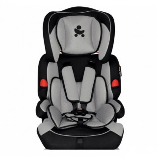 Автокресло Bertoni Kiddy Black&Grey, группа 1/2/3 (9-36 кг)